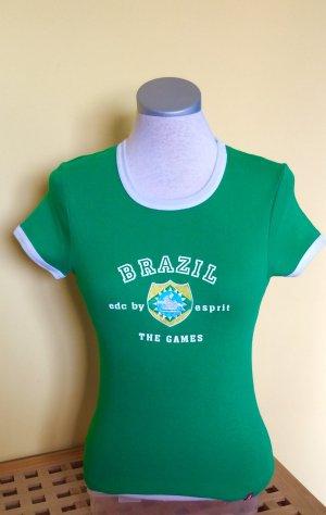 Edc by Esprit Shirt grün Größe M