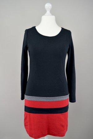 edc by Esprit Shirtkleid mit Streifen schwarz Größe L 1707220280497