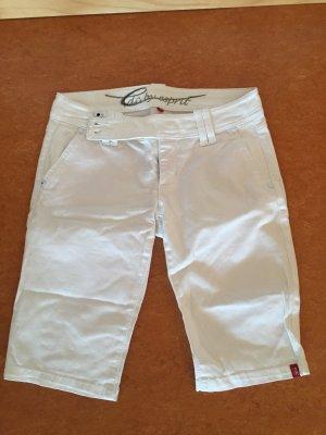 Edc by Esprit Shorts Bermuda weiß knielang