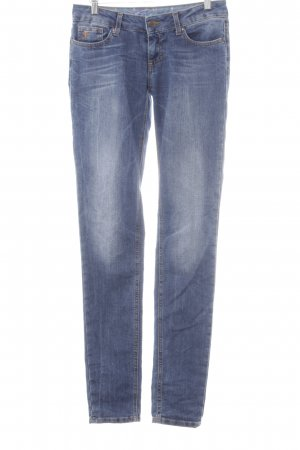 edc by Esprit Skinny Jeans dunkelblau-rostrot Casual-Look