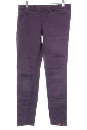 edc by Esprit Skinny Jeans dunkelviolett Casual-Look