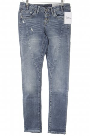 edc by Esprit Skinny Jeans kornblumenblau Jeans-Optik