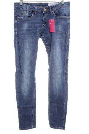 edc by Esprit Skinny Jeans stahlblau klassischer Stil