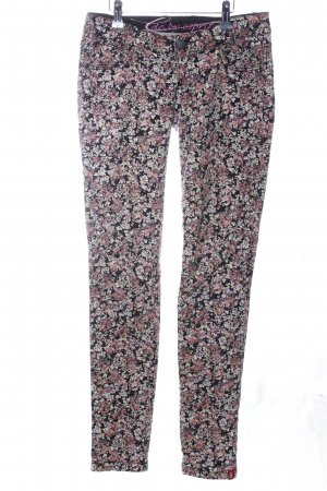 edc by Esprit Slim Jeans Allover-Druck Casual-Look
