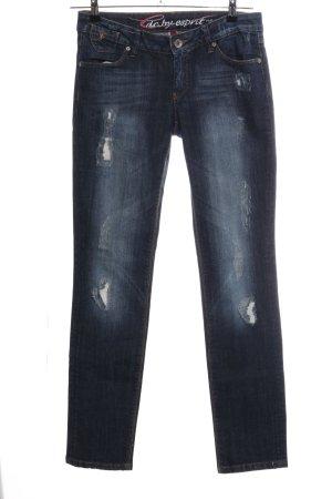 edc by Esprit Slim Jeans blau Street-Fashion-Look