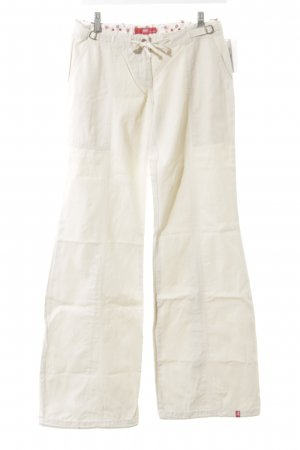 edc by Esprit Stoffhose creme Casual-Look