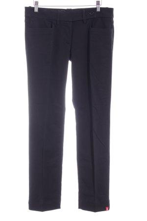 edc by Esprit Stoffen broek zwart zakelijke stijl