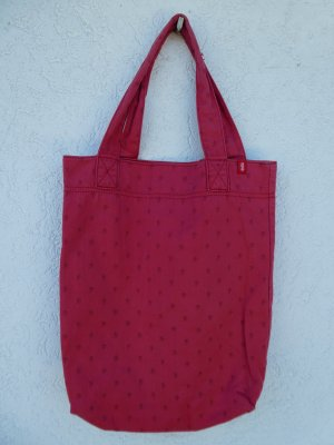 Edc Esprit Canvas Bag red cotton