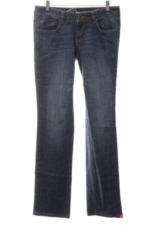 edc by Esprit Straight-Leg Jeans blau Casual-Look