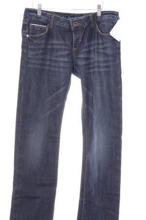 "edc by Esprit Straight-Leg Jeans ""CHILL"" dunkelblau"