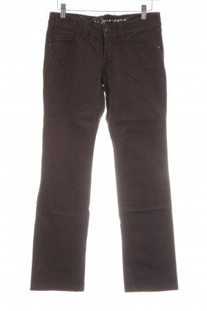 edc by Esprit Straight-Leg Jeans braun Casual-Look