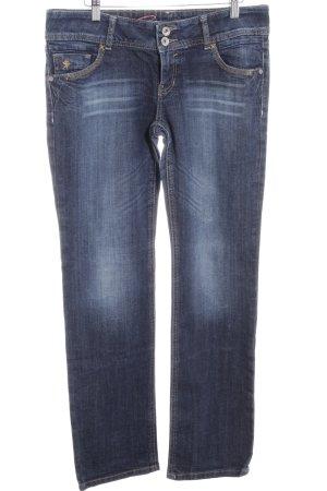 "edc by Esprit Straight-Leg Jeans ""FIVE"" dunkelblau"