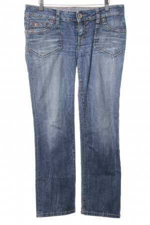 "edc by Esprit Straight-Leg Jeans ""FIVE"" stahlblau"