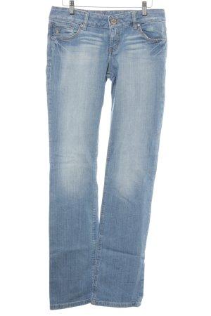 edc by Esprit Straight-Leg Jeans kornblumenblau-hellgelb Casual-Look