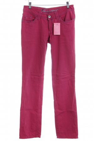 edc by Esprit Straight-Leg Jeans magenta Casual-Look