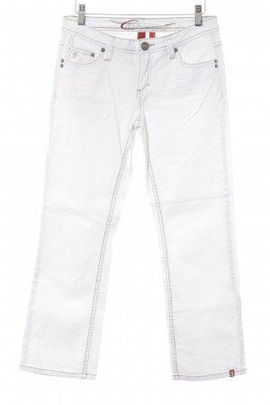 edc by Esprit Straight-Leg Jeans weiß Casual-Look