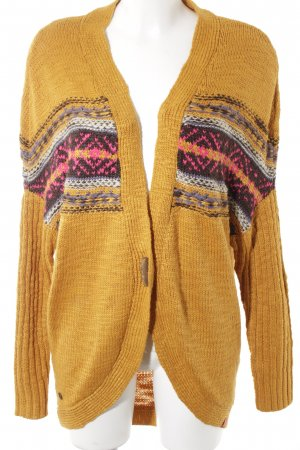 edc by Esprit Strick Cardigan abstraktes Muster Casual-Look