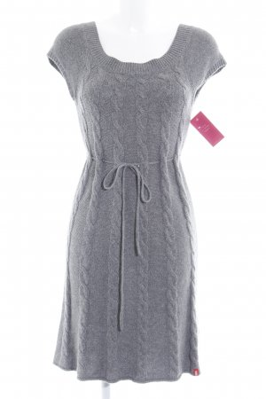 edc by Esprit Strickkleid grau meliert Casual-Look