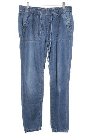 edc by Esprit Pantalon de jogging bleu acier style décontracté