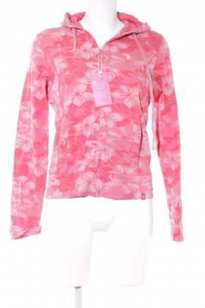 edc by Esprit Sweatjacke florales Muster Casual-Look