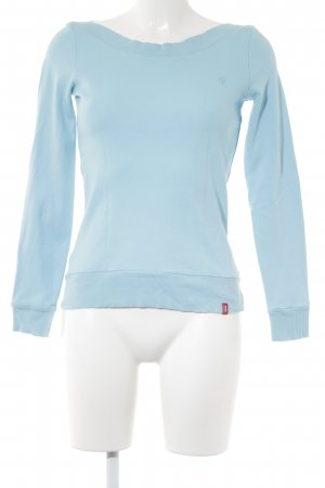 edc by Esprit Sweatshirt hellblau Casual-Look
