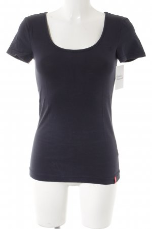 edc by Esprit T-Shirt dunkelblau Casual-Look