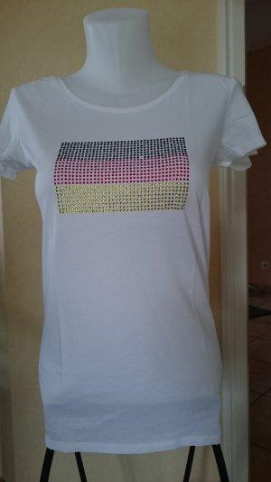 Edc by Esprit T-Shirt Gr M Deutschland Flagge