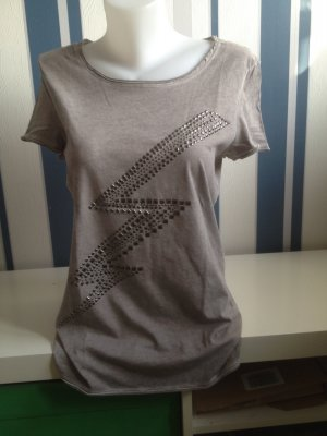 EDC by Esprit T-shirt Gr M Grau used mit Nieten
