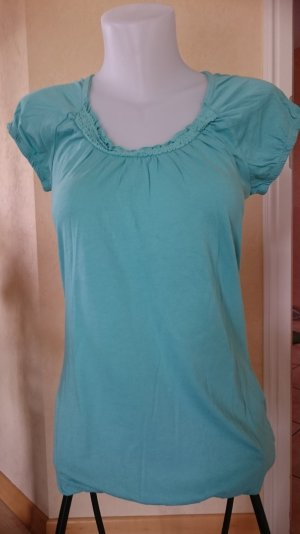 Edc Esprit Carmen Shirt light blue
