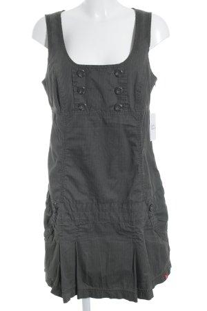 edc by Esprit Vestido tipo overol marrón grisáceo-taupe estampado a rayas