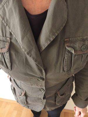 EDC by Esprit, Übergangs-Jacke, khaki, Gr. M