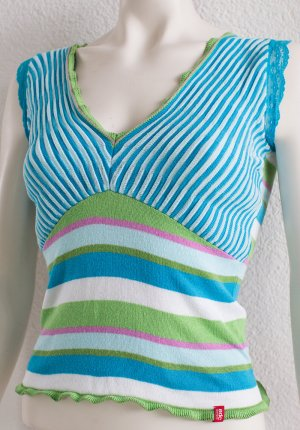 EDC BY ESPRIT ~ V-NECK SHIRT TOP ~ SIZE XXS