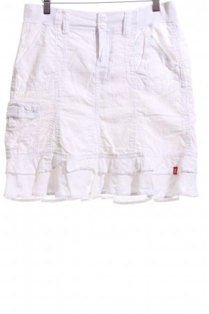 edc by Esprit Flounce Skirt white casual look