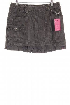 edc by Esprit Wikkelrok glencheck patroon casual uitstraling