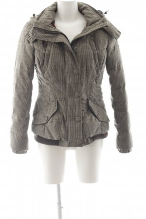 edc by Esprit Winterjacke Hahnentrittmuster Casual-Look
