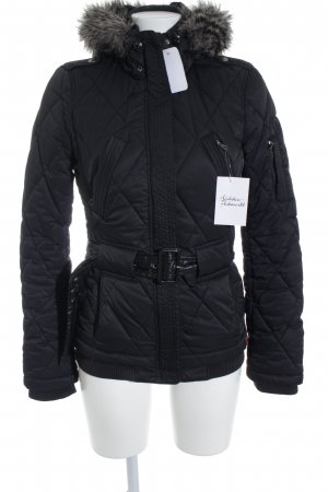 edc by Esprit Winterjacke schwarz Casual-Look
