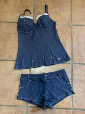 edc by Esprit Set lingerie blu scuro