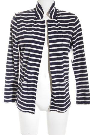 edc Cardigan dunkelblau-weiß Streifenmuster Street-Fashion-Look