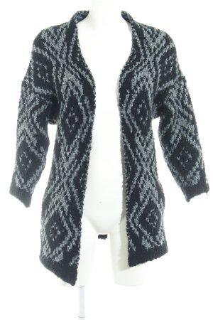 edc Cardigan schwarz-grau schlichter Stil