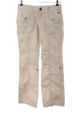 edc Pantalone cargo crema stile casual