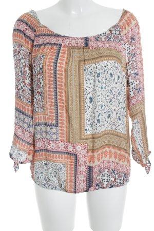 edc Carmen Blouse ethnic pattern beach look