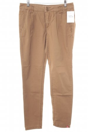 edc Chinohose camel Casual-Look