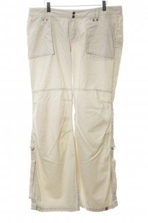 edc Chinohose creme Casual-Look
