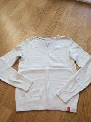 EDC Damen Pullover weiß
