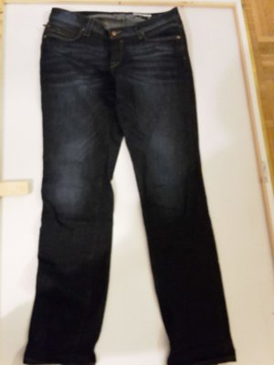 edc by Esprit Stretch Jeans dark blue mixture fibre