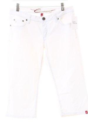 Edc Esprit 3/4 Jeans weiß Casual-Look