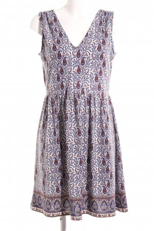 Edc Esprit A-Linien Kleid Paisleymuster Casual-Look