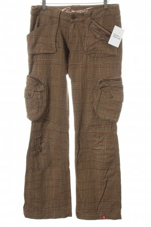 Edc Esprit Baggy Pants check pattern athletic style