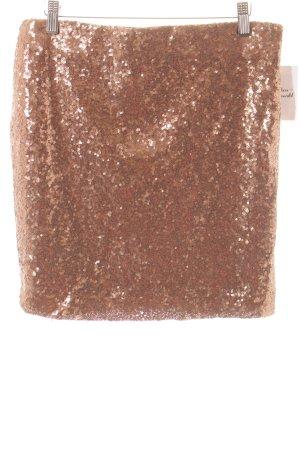 Edc Esprit Bleistiftrock bronzefarben Casual-Look