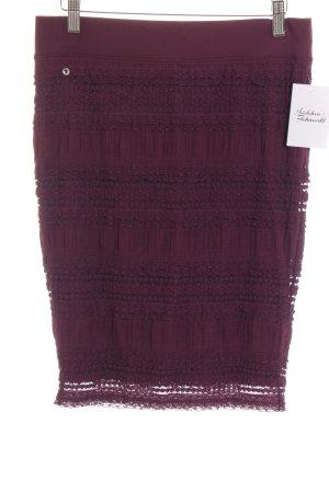 Edc Esprit Bleistiftrock purpur Casual-Look